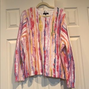 NWT 525 America paintbrush sweater size XL